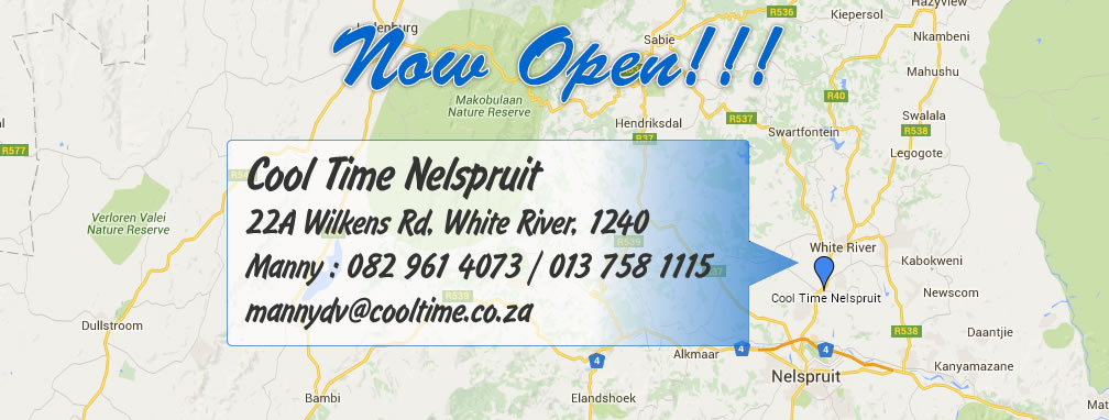 Nelspruit Now Open